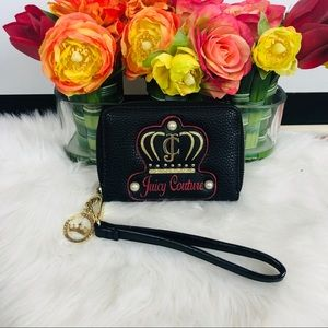 Juicy couture | black wristlet